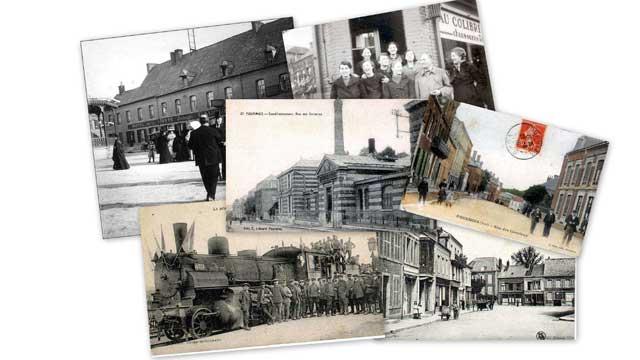 cartes postales anciennes d'Avesnois Thiérache